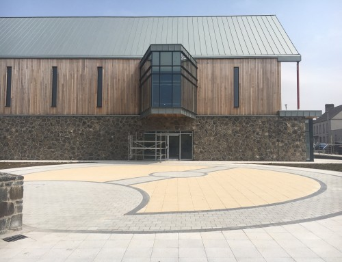 Paving package for The Seamus Heaney Centre Bellaghy